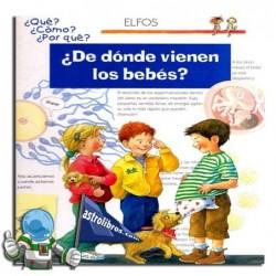 ¿De dónde viene los bebés? ¿Qué? ¿Cómo? ¿Por qué?