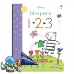 1,2,3 , LIBRO PIZARRA