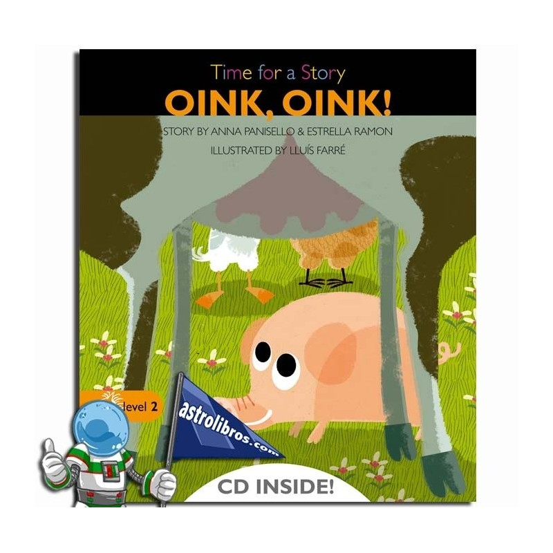 OINK,OINK. TIME FOR A STORY