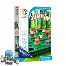 JUMPIN , JUEGO DE LÓGICA PARA UN JUGADOR , SMART GAMES