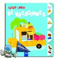 DE VACACIONES , LUCAS Y JULIA