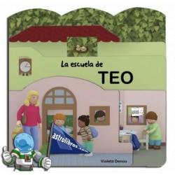 LA ESCUELA DE TEO , CUENTO TROQUELADO
