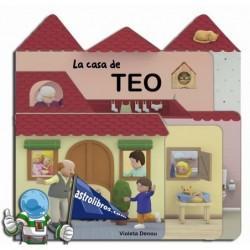 LA CASA DE TEO , CUENTO TROQUELADO