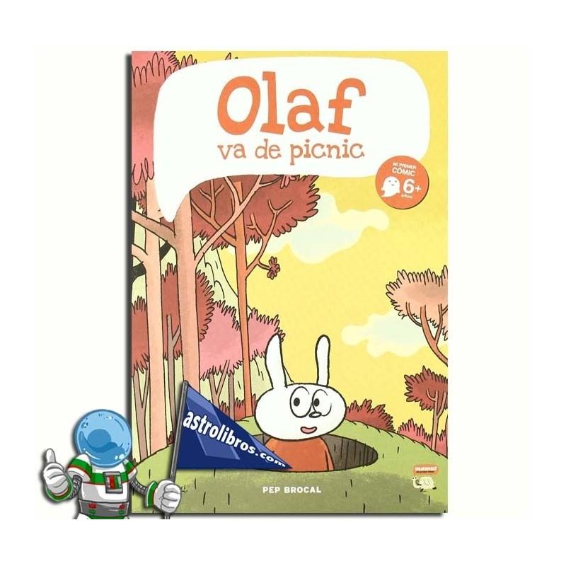 Olaf va de picnic. Mi primer cómic. + 6 urte