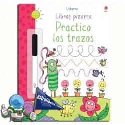 PRACTICO LOS TRAZOS. LIBROS PIZARRA