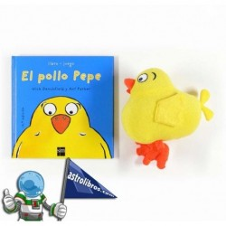 El pollo Pepe. Libro Pop-up + peluche