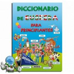 DICCIONARIO DE EUSKERA PARA PRINCIPIANTES