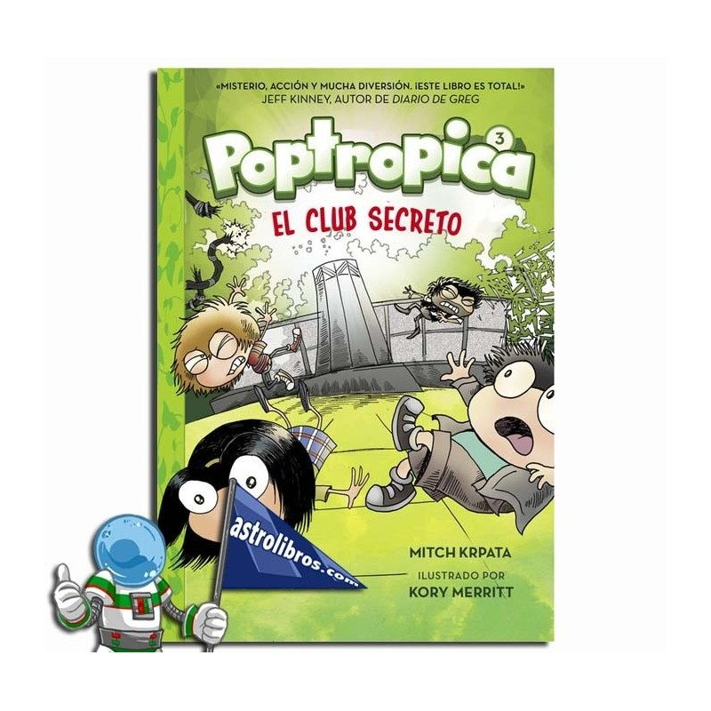 Poptropica 3 . El club secreto