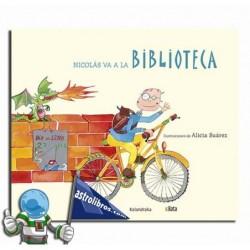 NICOLÁS VA A LA BIBLIOTECA. B.A.T.A.