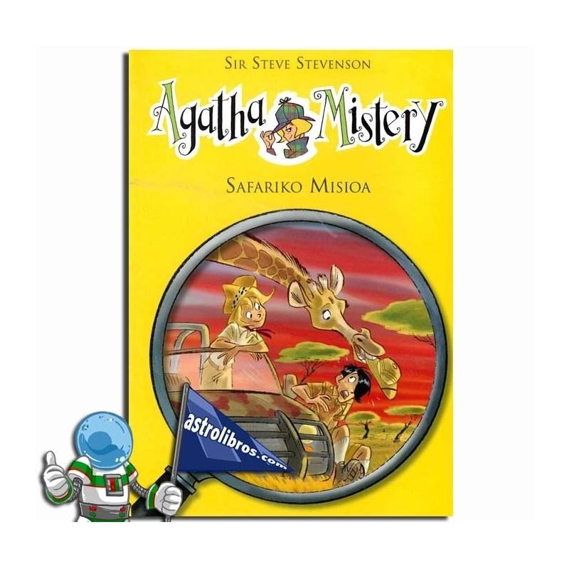 Safariko misioa. Agatha Mistery 8