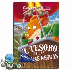 EL TESORO DE LAS COLINAS NEGRAS , GERONIMO STILTON 56