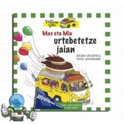 Max et Mía urtebete jaian. Yellow van