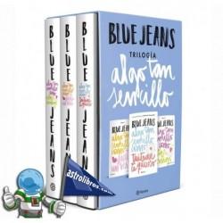 Estuche trilogía Algo tan sencillo. Blue Jeans