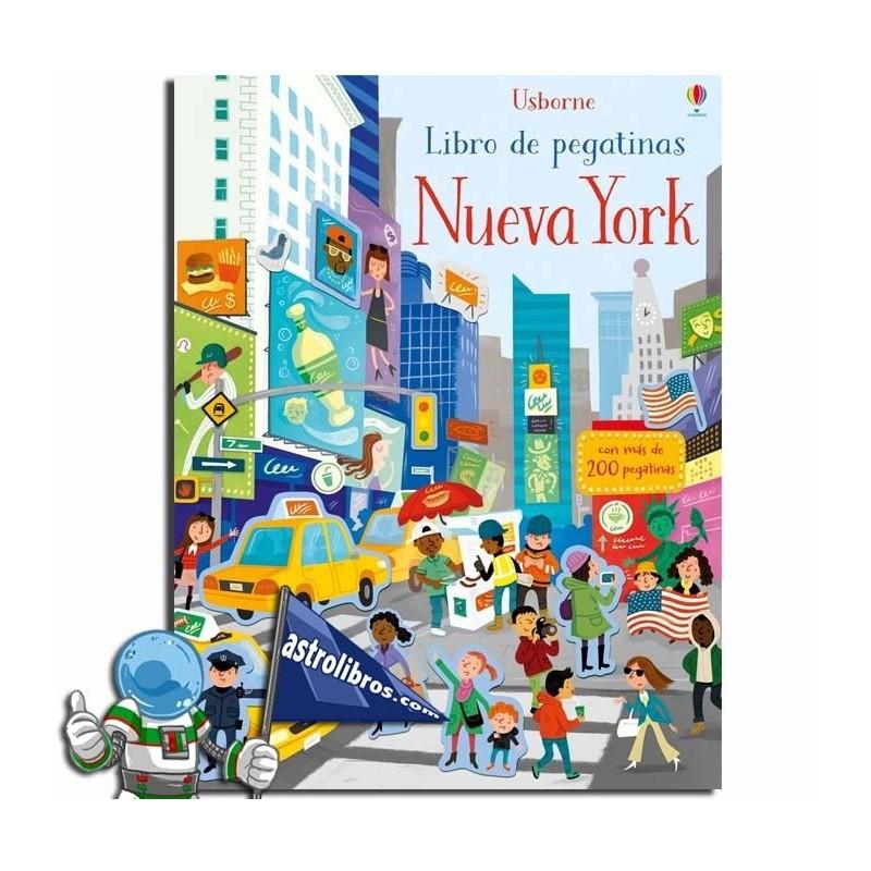 NUEVA YORK. LIBRO PEGATINAS