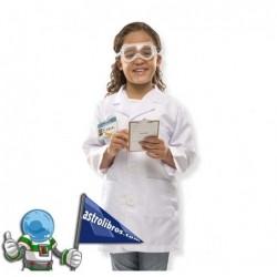 Disfraz infantil de científico