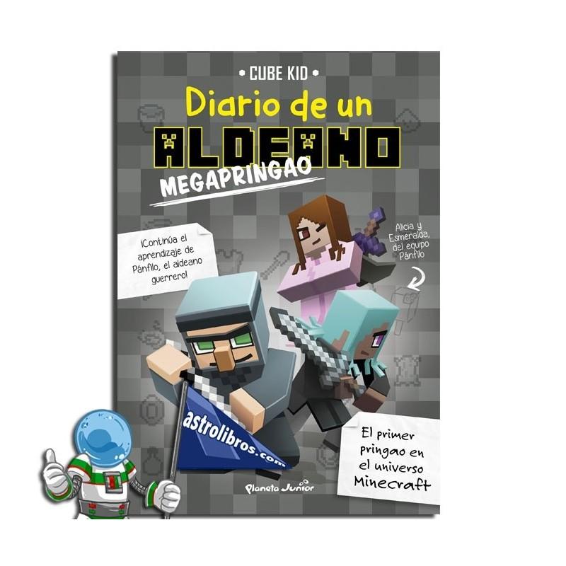 MINECRAFT. DIARIO DE UN ALDEANO MEGAPRINGAO 3