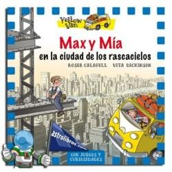 MAX Y MÍA EN LA CIUDAD DE LOS RASCACIELOS , YELLOW VAN 11