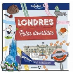 LONDRES , RUTAS DIVERTIDAS , LONELY PLANET JUNIOR