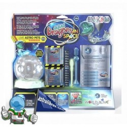 AQUA DRAGONS IN SPACE PECERA XL