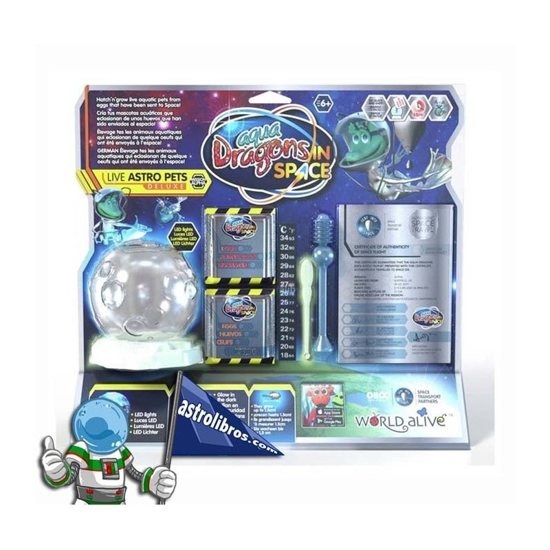 AQUA DRAGONS IN SPACE PECERA XL