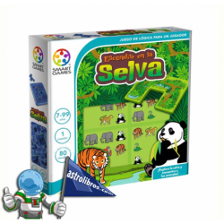 ESCONDITE EN LA SELVA , JUEGO DE LÓGICA PARA UN JUGADOR , SMART GAMES