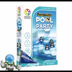 PINGÜINOS POOL PARTY , JUEGO DE LÓGICA PARA UN JUGADOR , SMART GAMES