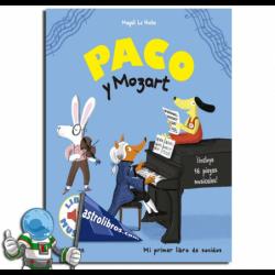 PACO Y MOZART , LIBRO MUSICAL
