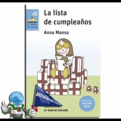 LA LISTA DE CUMPLEAÑOS. LECTURA FÁCIL