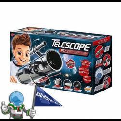 TELESCOPIO 50 ACTIVIDADES ZOOM 375X