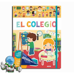 EL COLEGIO , LIBRO DE PEGATINAS REUTILIZABLES