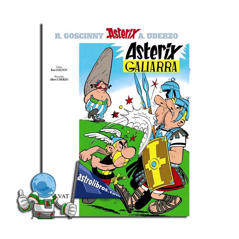ASTERIX GALIARRA. ASTERIX EN EUSKERA 1