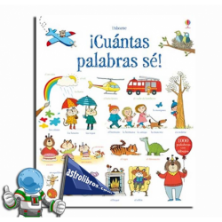 ¡CUANTAS PALABRAS SÉ! 1000 PALABRAS CON DIBUJOS