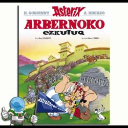 ARBERNOKO EZKUTUA , ASTERIX EN EUSKERA 11