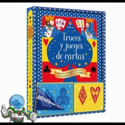 TRUCOS Y JUEGOS DE CARTAS , LIBRO DE MAGIA PARA NIÑOS