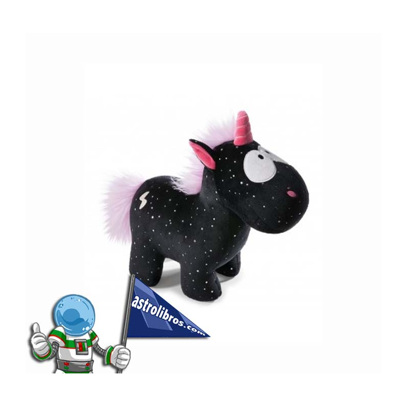 UNICORNIO CARBÓN FLASH NICI 22CM.