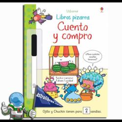 CUENTO Y COMPRO. LIBROS PIZARRA