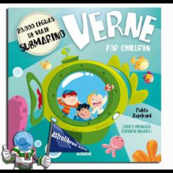 20000 LEGUAS DE VIAJE SUBMARINO , VERNE FOR CHILDREN , LIBRO BILINGÜE ESPAÑOL-INGLÉS