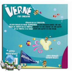 VERNE FOR CHILDREN. 20000 LEGUAS DE VIJAE SUBMARINO. ¡LIBRO BILINGÜE ESPAÑOL-INGLÉS!