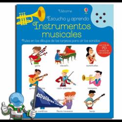 INSTRUMENTOS MUSICALES | ESCUCHO Y APRENDO | LIBRO CON SONIDOS