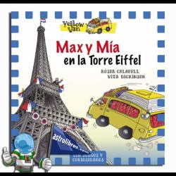 MAX Y MÍA EN LA TORRE EIFFEL , YELLOW VAN 13