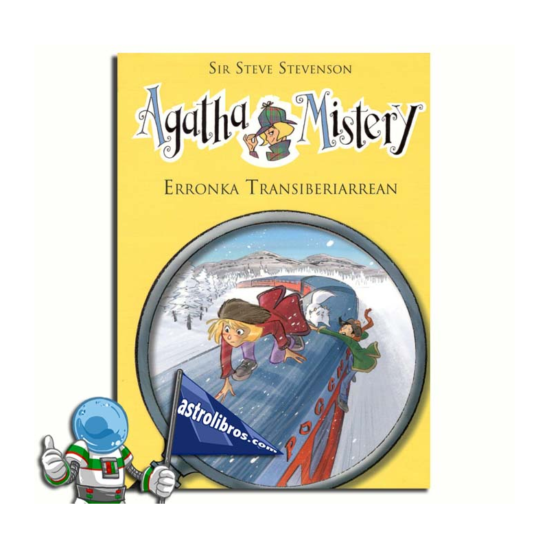AGATHA MISTERY 13 EUSKERA. ERRONKA TRANSIBERIARREAN