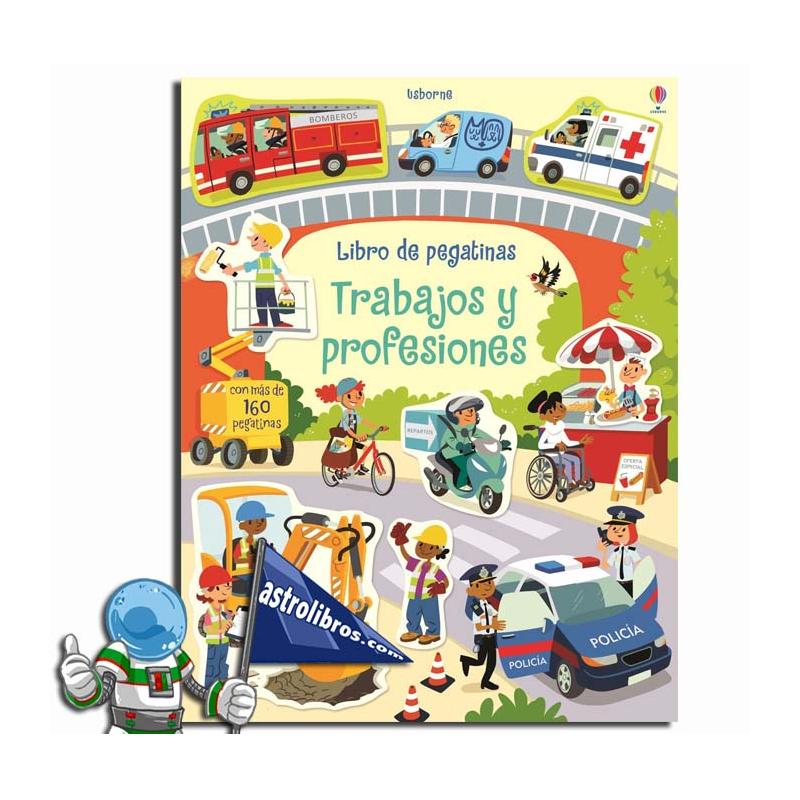 LIBRO DE PEGATINAS. TRABAJOS Y PROFESIONES