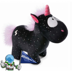 UNICORNIO CARBÓN FLASH. PELUCHE NICI 32CM