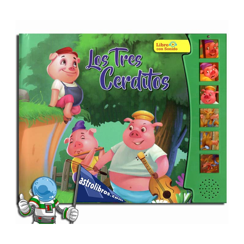 LOS TRES CERDITOS. LIBRO CON SONIDOS
