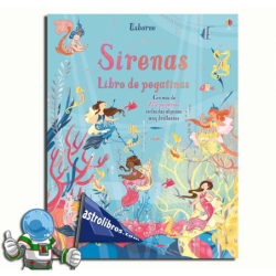 SIRENAS , LIBRO DE PEGATINAS