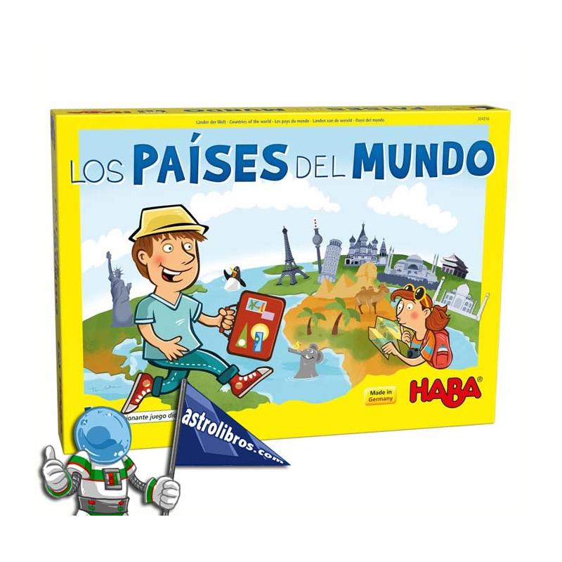 LOS PAÍSES DEL MUNDO. JUEGO DE MESA HABA