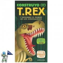 CONSTRUYO UN T.REX , CONSTRUYE UN DINOSAURIO DE 76 CM