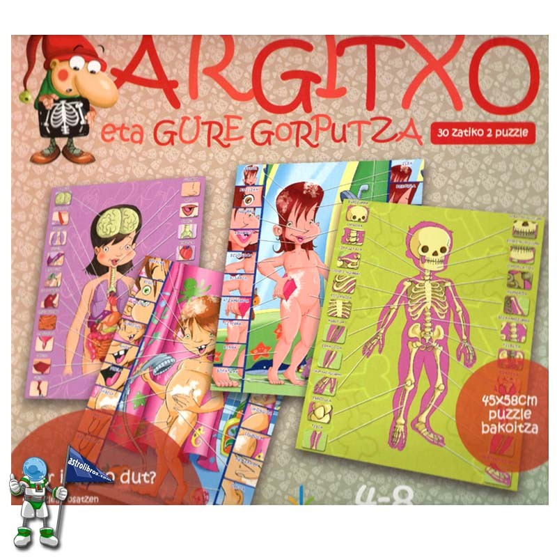 ARGITXO ETA GURE GORPUTZA | JOKO