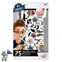 75 TATTOOS LAVABLES |...