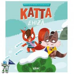 KATTA EHIZAN , KATTA 4 , CUENTO EN MAYÚSCULA EN EUSKERA